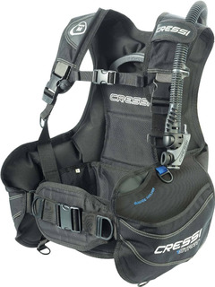 Chaleco Bcd Cressi Start Negro Para Buceo