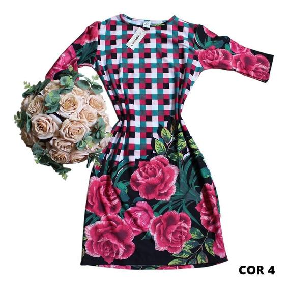 Roupas Femininas Vestido Evangelico Midi Crente Chic 2723