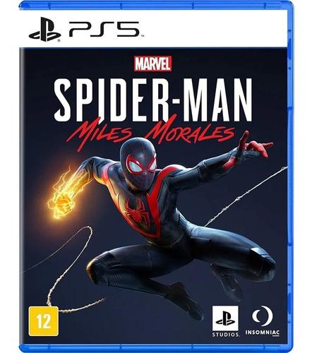 Imagem 1 de 5 de Jogo Marvel's Spider-man: Miles Morales - Ps5