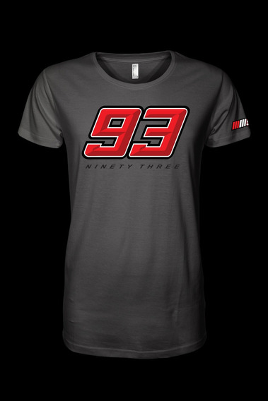 Camiseta Marc Marquez Mm93 Ninety Three Motogp Honda