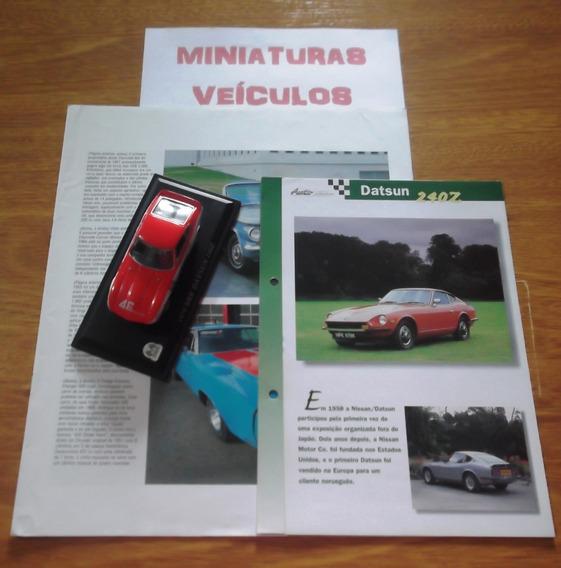 Miniatura - Auto Collection - Nº06 - Bre Datsun 240z 1970