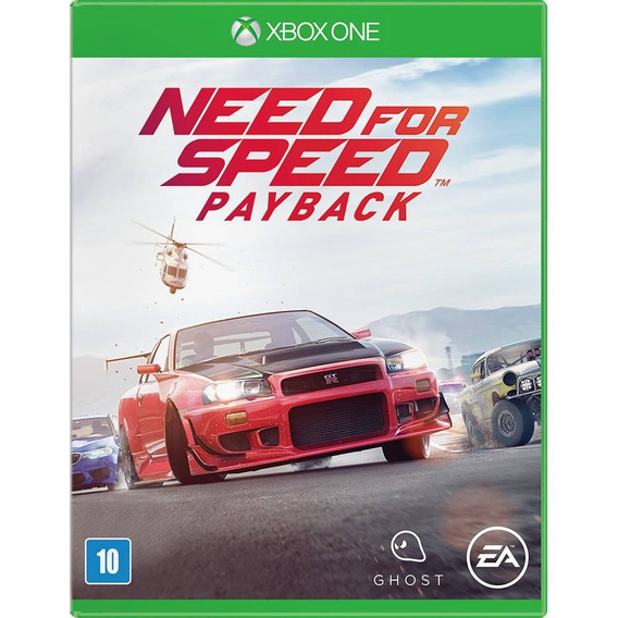 Need For Speed Payback Xbox One Jogo Mídia Física Lacrado