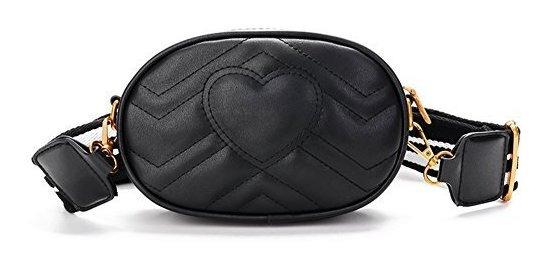 Mujer Mini Bolsa De Cintura Fanny Paquetes Forma De Corazón