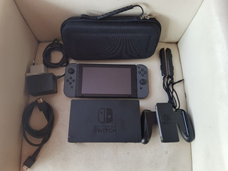 Nintendo Switch Desbloqueada + Memoria 128gb + Juegos+ Bolso