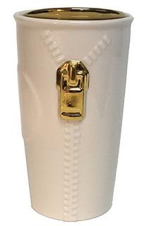 Starbucks Gold Zipper Double Wall Traveler Limited Edition