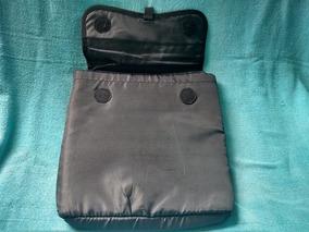 Capa Preta Mini Notebook Pasta Necessaire Estojo Resistente