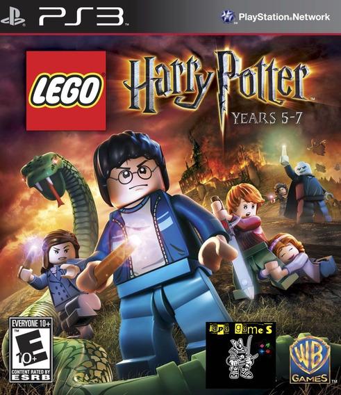 Lego Harry Potter Years 5-7 Jogos Ps3 Psn Original