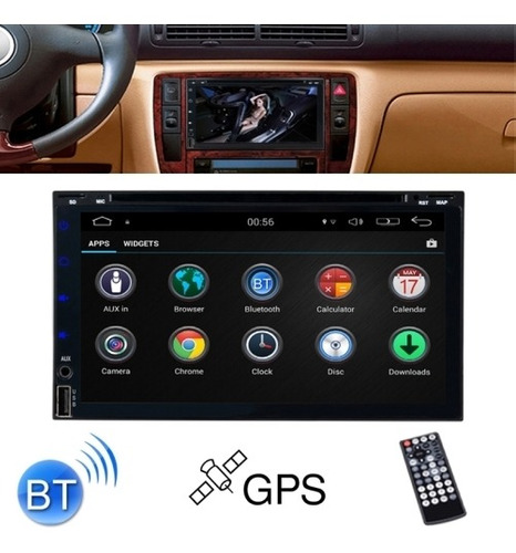 Dvd Vehiculo Pantalla Tactil 6.95 Hd Dual Core Android