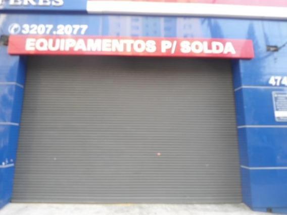 Salão Comercial Para Locação, Brás, São Paulo. - Sl0125