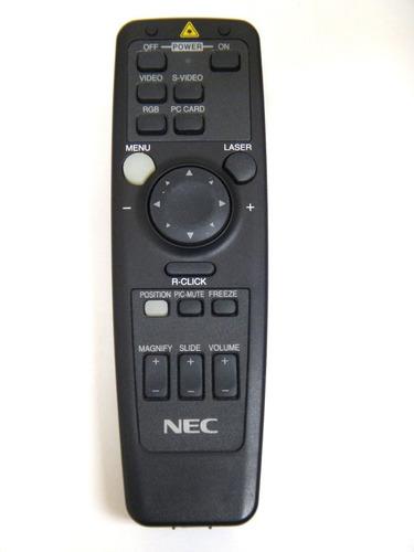 Control Remoto Proyector Nec Rd-356e