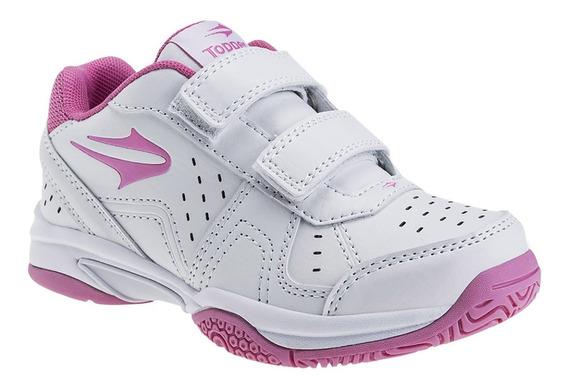 Zapatillas Rookie Velcro Kids Topper Tenis Niños