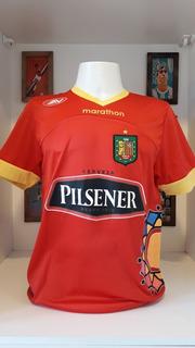 Camisa Futebol Deportivo Cuenca Marathon