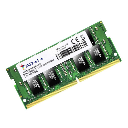 Memória Notebook 16gb Ddr4 2666 Mhz Adata Ad4s2666316g19