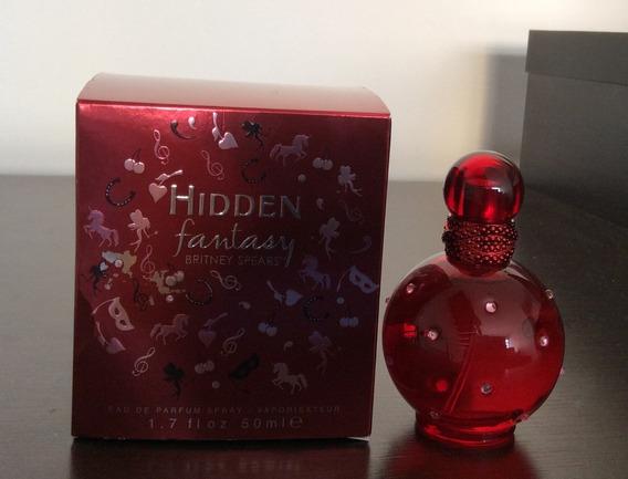Perfume Hidden Fantasy Britney Spears 50ml Eua De Parfum