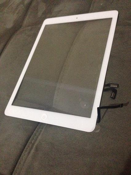 Tela Touch ( Vidro) Com Botão Home E Cola 3m Para iPad Air