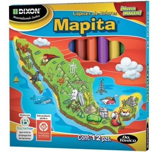 Pack De 20 Mapita Cortos Con 12 Colores