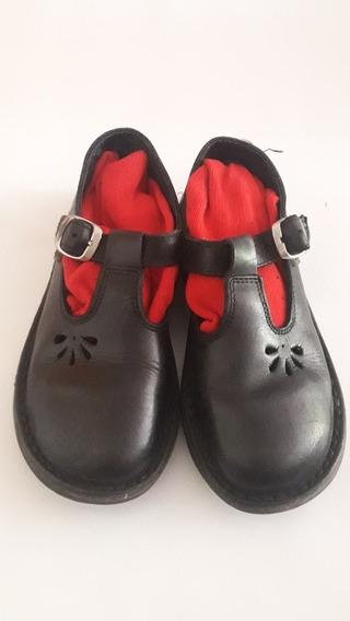 Zapatos Escolares Nena Guillermina Talle 33 Usados