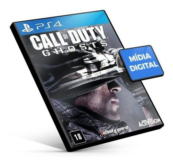 Call Of Duty Ghosts Gold Edition_mídia Digital_ps4
