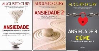 Kit Augusto Cury Ansiedade Vol 1,2 E 3 (3 Livros)