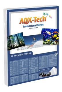 Papel Rc Glossy Foto Adhesivo Removible Poster Premium A4 Aqx - Se Despega Sin Romper!