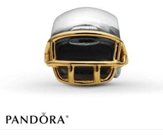 Charm Pandora Mod. Casco Americano Plata Nueva Colección