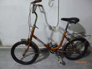 Bicicleta Plegable Rodado 16 Para Niños