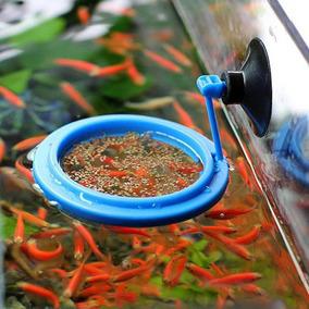 Alimentador Plastico Redondo Para Peixes 7cm (comedouro)