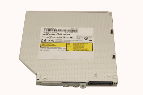 Drive Cd Dvd Slim Notebook Su-208 Samsung S/ Frontal