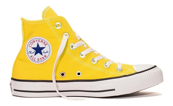Zapatillas Converse Chuck Taylor All Star Amarillo 166648c