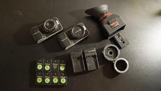 Kit 2 Bmpcc Blackmagic Pocket Cinema Camera