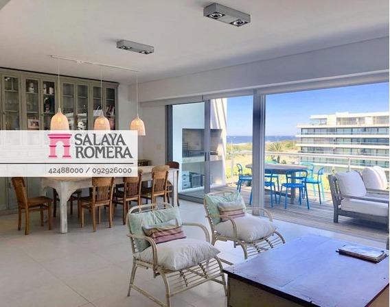Alquiler Departamento En Playa Brava, 3 Dormitorios, Parrilla, Vistas Al Mar