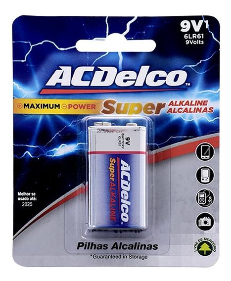 Bateria Alcalina Ac Delco 9v