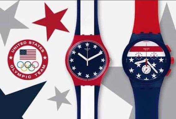 Kit Dois Relógios Swhatch Olimpiadas 2016 .