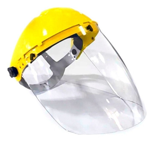 Careta Facial De Protección Visor Policarbonato