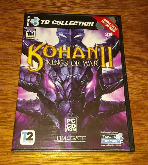 Kohan 2 - Kings Of War Original Computador Pc Game Jogo