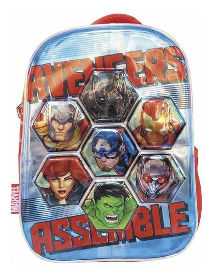 Mochila De Espalda Avengers 12 Ideal Jardin Sp528