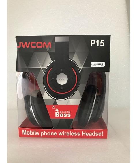 Fone De Ouvido Bluetooth C/rádio Fm Fo-bt-p15 Hardline Preto