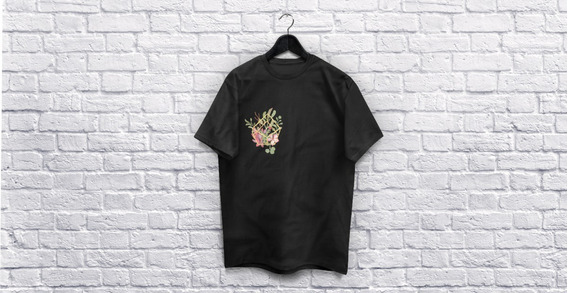 Camiseta Pernalizada - Flor De Cacto