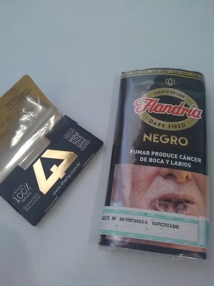 Tabaco Flandria Varios Sabores + Papel Celulosa 4hemp