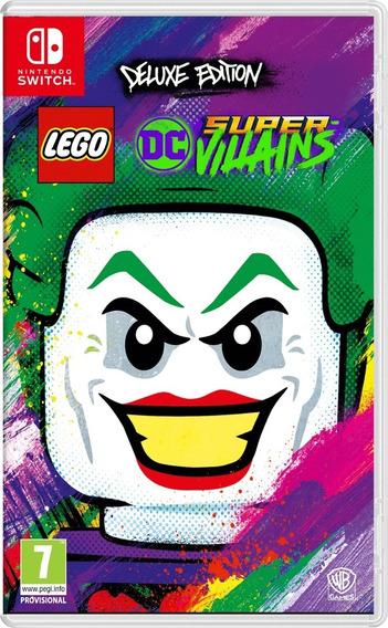 Lego Dc Super Villains Deluxe Edition Nintendo Switch