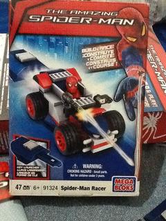 Megabloks Vehículo The Amazing Spiderman Como Nueva!!