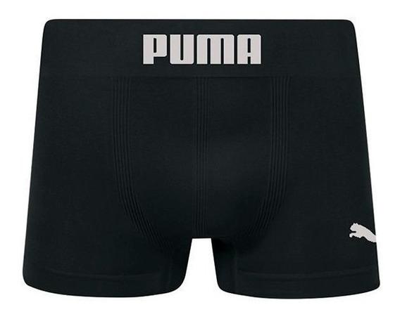 Cueca Boxer Puma S/ Costura Kit C/ 5 Pçs Produto Original