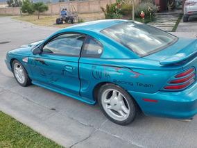 Ford Mustang Con Adaptaciones Para Carreras