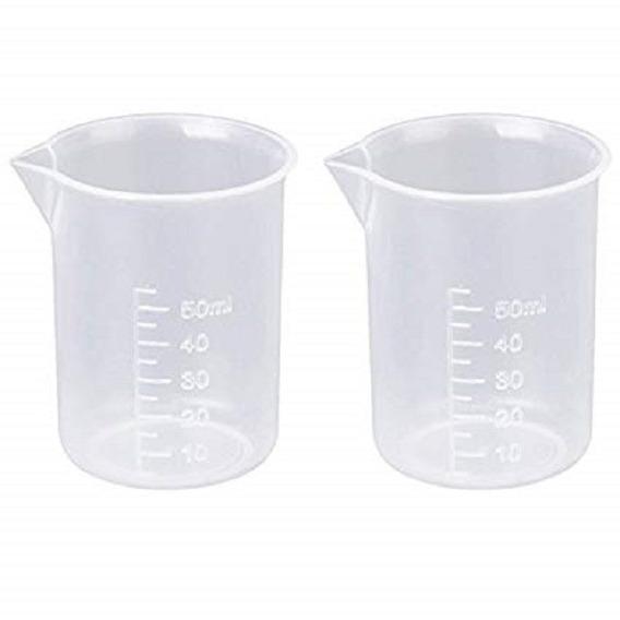 Vaso De Precipitado De Plástico De 50 Ml.