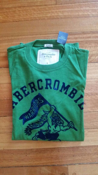Remeras Abercrombie & Fitch Talle L Muscle