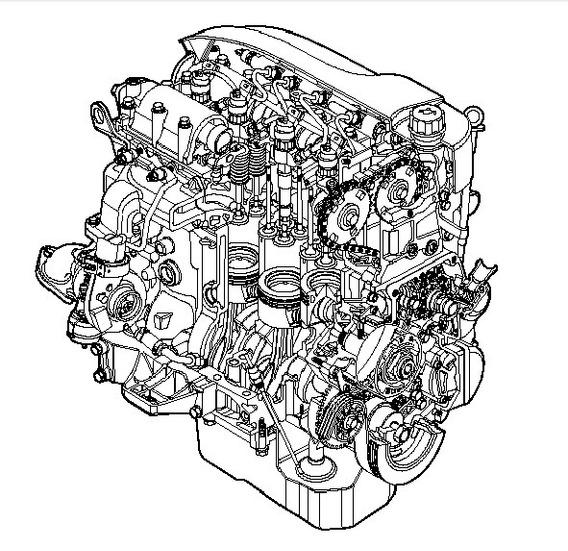 Motor Iveco Daily F1c -2007 ~ Manual De Servicio