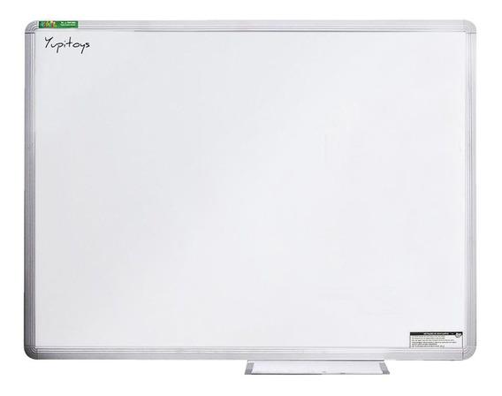 Lousa Quadro Branco Moldura De Alumínio 100x70 Cm Escolar