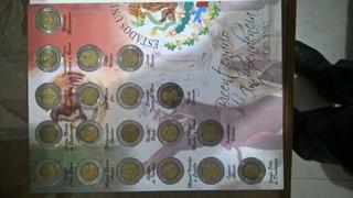 Album De Monedas Conmemorativas De $5