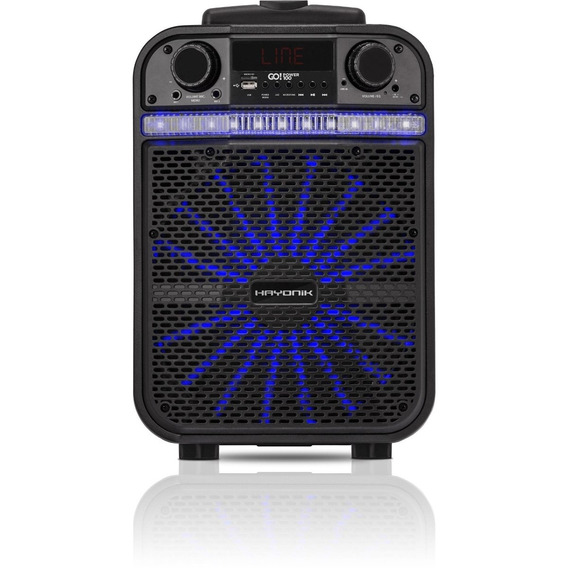 Caixa Portátil Bluetooth/usb/fm 80w Go Power 100 Hayonik