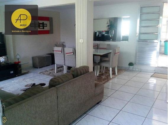 Casa Térrea Para Venda, Parque Santana, Mogi Das Cruzes. - Ca0013